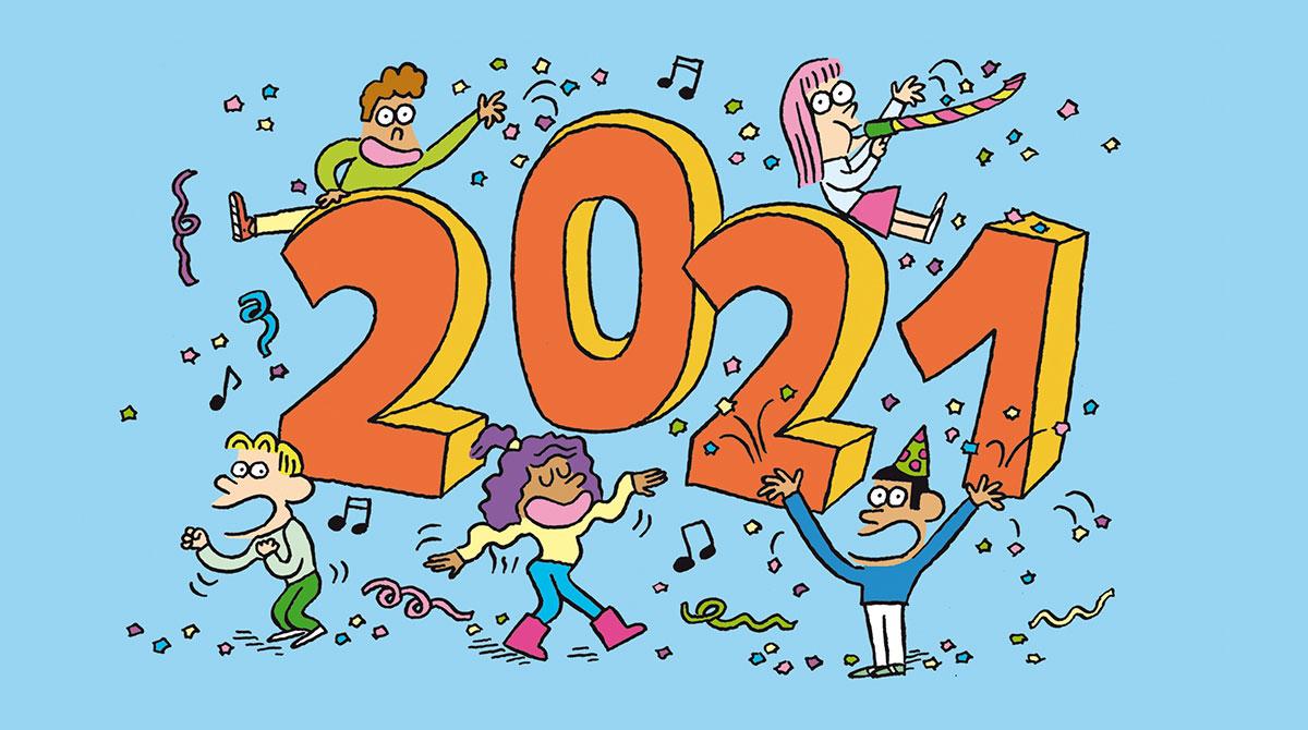 Salut l'info ! 1er janvier 2021 - Bonne année !