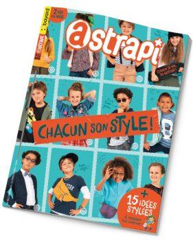 Couverture du magazine Astrapi n°962, 15 janvier 2021