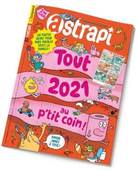 Couverture du magazine Astrapi n°961, 1er janvier 2021