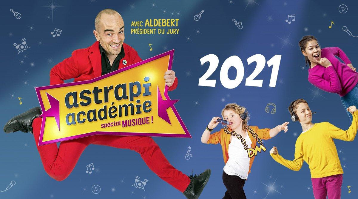 Astrapi académie spécial musique 2021 - Aldebert, président du jury.