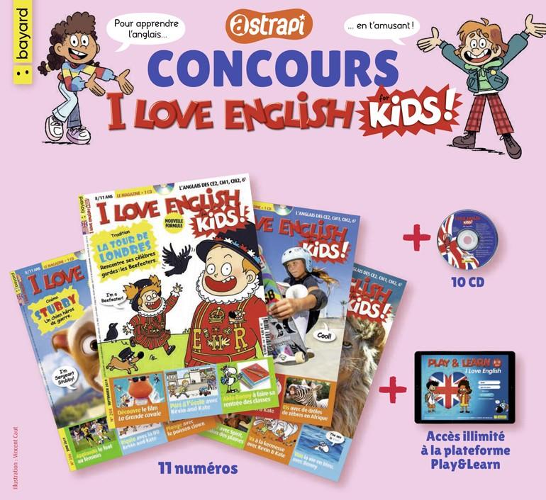 Concours Astrapi - I Love English for Kids - Vincent Caut