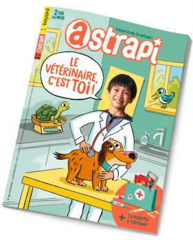 Couverture du magazine Astrapi n°964, 15 février 2021
