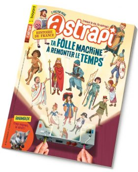 Couverture du magazine Astrapi n°963, 1er février 2021