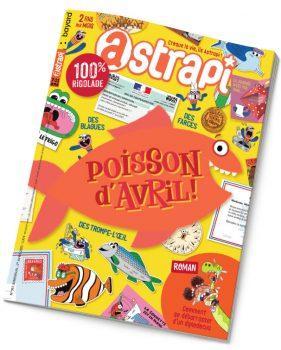 Couverture du magazine Astrapi n°967, 1er avril 2021