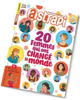Couverture du magazine Astrapi n°966, 15 mars 2021