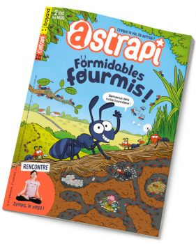 Couverture du magazine Astrapi n°971, 1er juin 2021