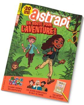 Couverture du magazine Astrapi n°973, 1er juillet 2021