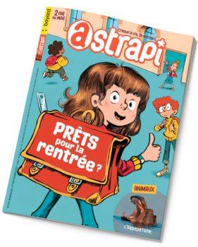 Couverture du magazine Astrapi n°975, 1er septembre 2021 - Prêts pour la rentrée ?