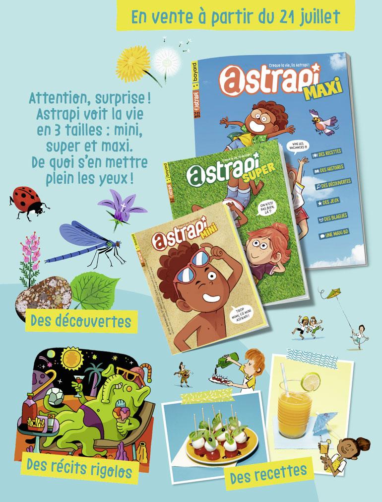 Sommaire du magazine Astrapi n°974, 1er août 2021