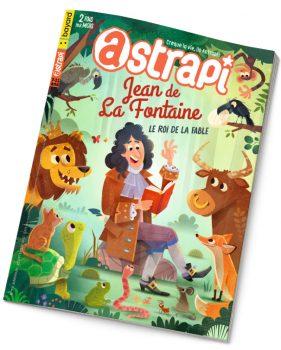 Couverture du magazine Astrapi n°976, 15 septembre 2021 - Jean de La Fontaine