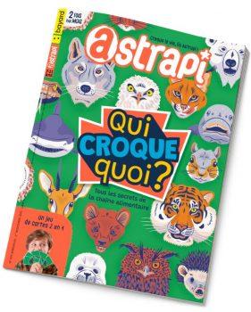 Couverture du magazine Astrapi n°979, 1er novembre 2021 - Qui croque quoi ? Tous les secrets de la chaîne alimentaire